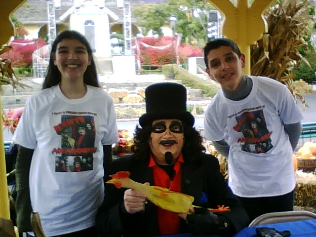 This was taken at Six Flags Fright Fest: the very first time I ever met Svengoolie!