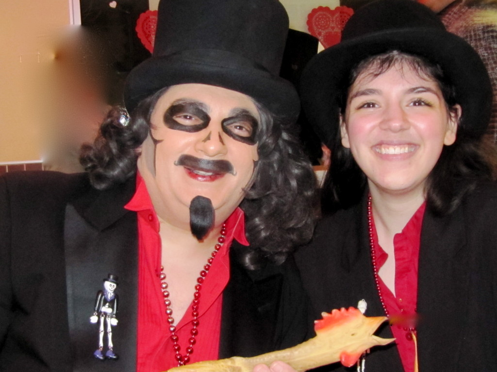 This is Svengoolie! (And me.  At White Castle.)