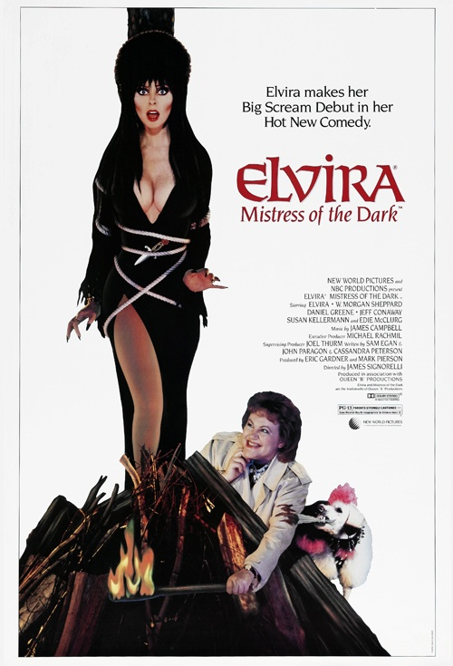 Wow! Elvira's really HOT!