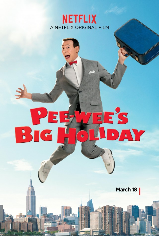 "That's about how high I jumped every time I heard news about ""Pee-wee's Big Holiday."""